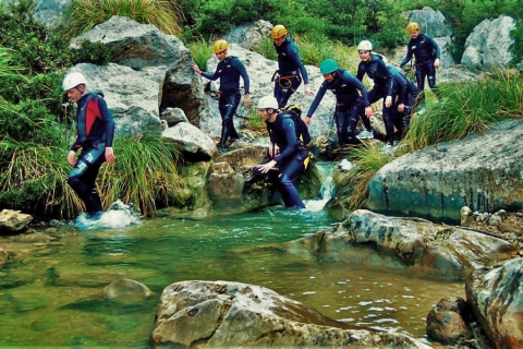 For your next adventure try canyoning in Mallorca