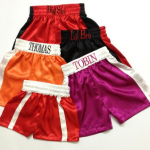 Make your mark with custom boxing shorts
